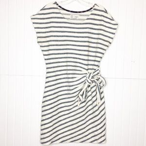 Anthropologie | Stripes Side Tye Dress